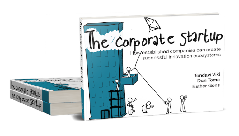Rendering of The Corporate Startup